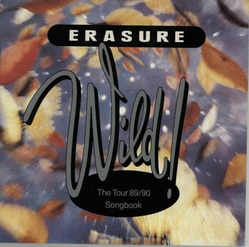 Erasure Wild! Tour 89-90 Songbook tour programme UK ERATRWI586919