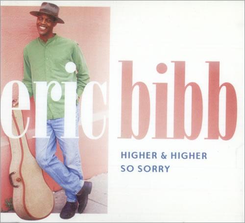 "Eric Bibb Higher & Higher CD single (CD5 / 5"") UK EBIC5HI252359"