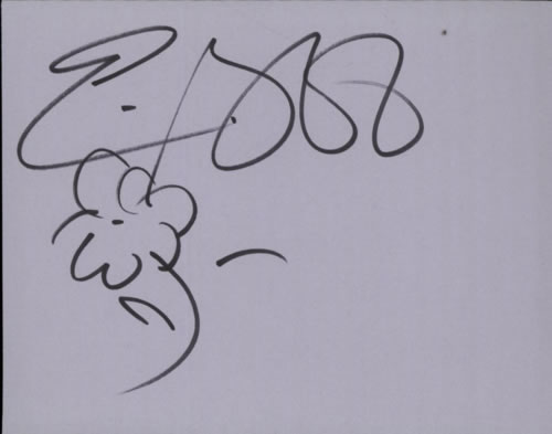 Eric Bibb Page From An Autograph Book memorabilia UK EBIMMPA601869