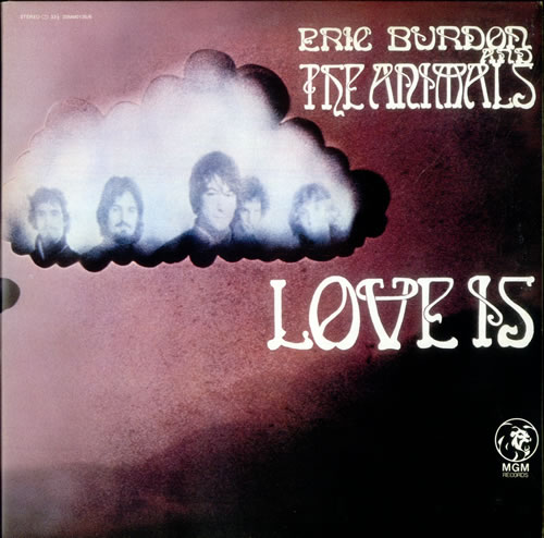 Eric Burdon & The Animals Love Is 2-LP vinyl record set (Double Album) Japanese EBA2LLO533793