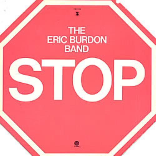 Eric Burdon Stop vinyl LP album (LP record) US ERBLPST62136