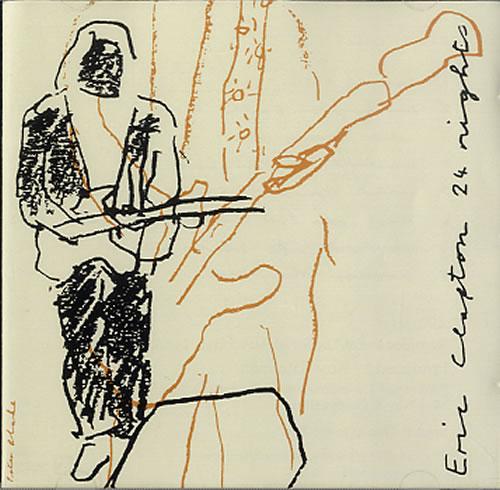 Eric Clapton 24 Nights 2 CD album set (Double CD) German CLP2CNI622667