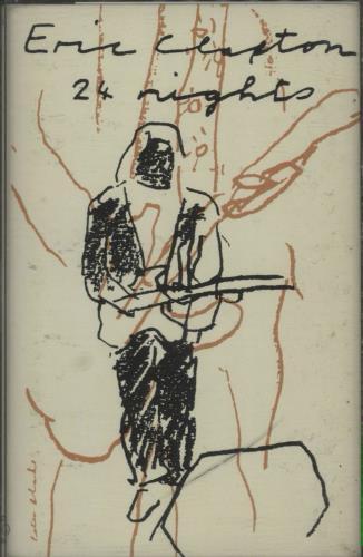 Eric Clapton 24 Nights Double Cassette UK CLP2KNI678608