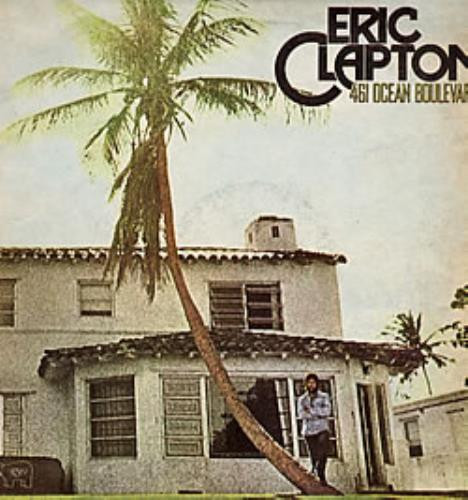 Eric Clapton 461 Ocean Boulevard vinyl LP album (LP record) Argentinean CLPLPOC238504