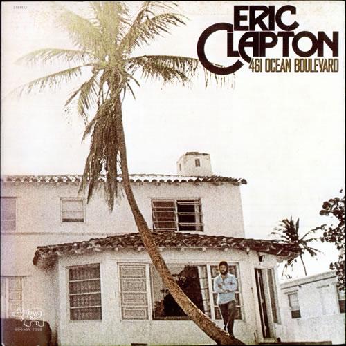 Eric Clapton 461 Ocean Boulevard vinyl LP album (LP record) Japanese CLPLPOC513709