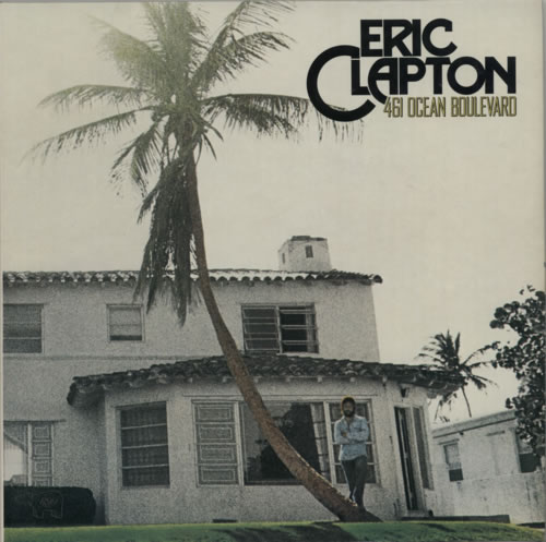 Eric Clapton 461 Ocean Boulevard vinyl LP album (LP record) UK CLPLPOC54368