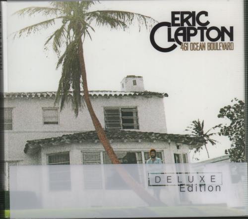 Eric Clapton 461 Ocean Boulevard 2 CD album set (Double CD) UK CLP2COC647221