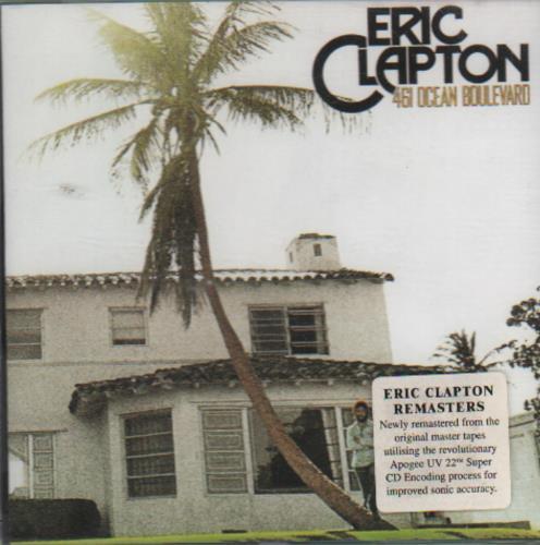 Eric Clapton 461 Ocean Boulevard CD album (CDLP) German CLPCDOC649837
