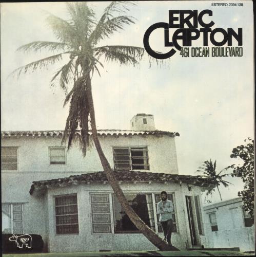 Eric Clapton 461 Ocean Boulevard vinyl LP album (LP record) Portugese CLPLPOC739069