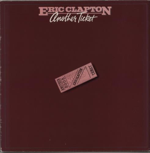 Eric Clapton Another Ticket vinyl LP album (LP record) UK CLPLPAN135680