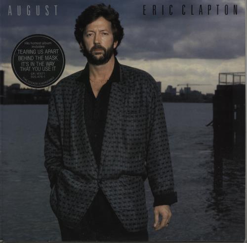 Eric Clapton August vinyl LP album (LP record) German CLPLPAU156222