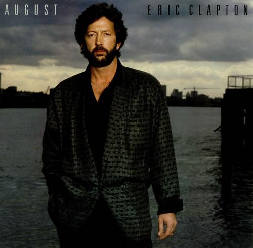 Eric Clapton August vinyl LP album (LP record) UK CLPLPAU445359