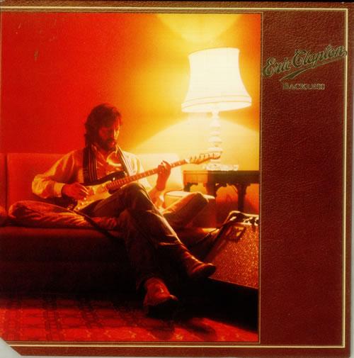 Eric Clapton Backless vinyl LP album (LP record) US CLPLPBA547303