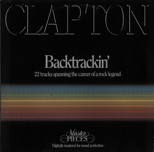 Eric Clapton Backtrackin' - EX 2-LP vinyl record set (Double Album) UK CLP2LBA578415
