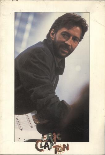 Eric Clapton Behind The Sun Tour 1985 - EX tour programme UK CLPTRBE694453