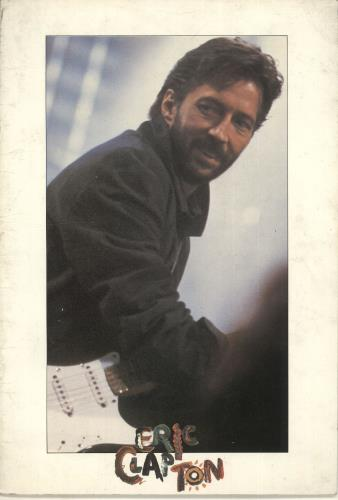 Eric Clapton Behind The Sun Tour 1985 tour programme UK CLPTRBE446228