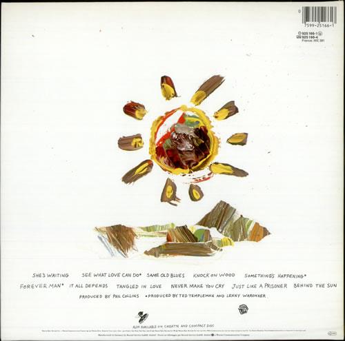 Eric Clapton Behind The Sun vinyl LP album (LP record) UK CLPLPBE75325