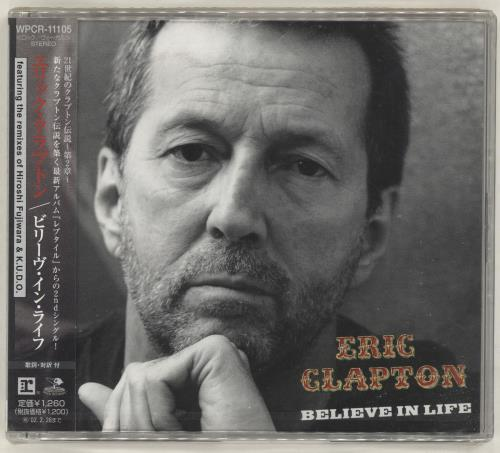 """Eric Clapton Believe In Life CD single (CD5 / 5"""") Japanese CLPC5BE194987"""