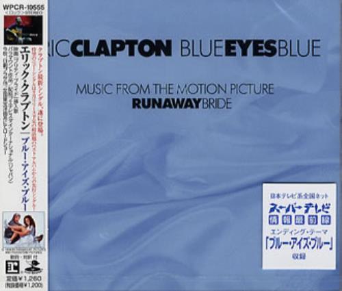 "Eric Clapton Blue Eyes Blue CD single (CD5 / 5"") Japanese CLPC5BL141626"