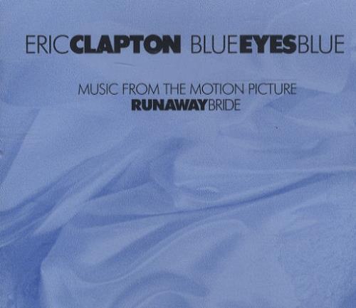 "Eric Clapton Blue Eyes Blue CD single (CD5 / 5"") German CLPC5BL145058"