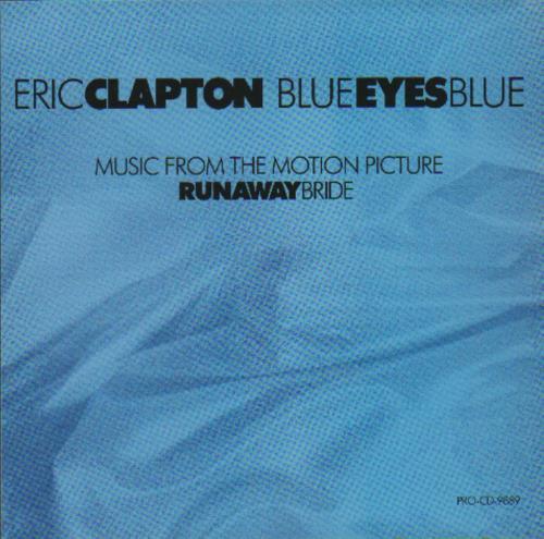 "Eric Clapton Blue Eyes Blue CD single (CD5 / 5"") US CLPC5BL145115"