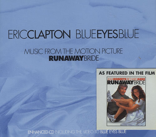 "Eric Clapton Blue Eyes Blue CD single (CD5 / 5"") UK CLPC5BL146165"