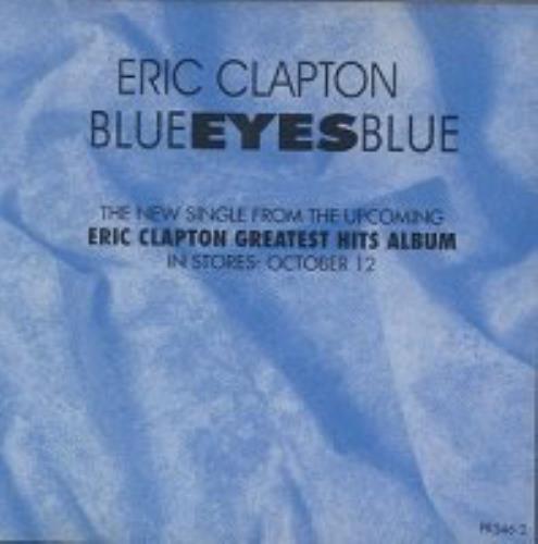 "Eric Clapton Blue Eyes Blue CD single (CD5 / 5"") Malaysia CLPC5BL164336"