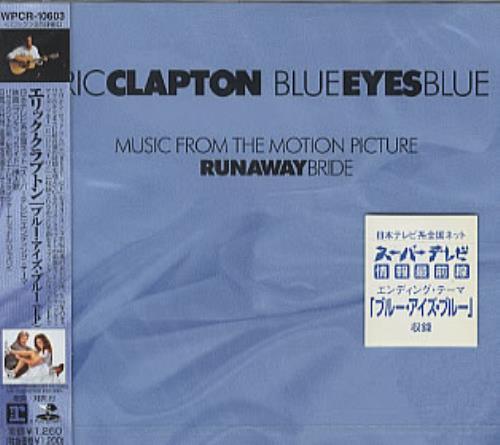 "Eric Clapton Blue Eyes Blue CD single (CD5 / 5"") Japanese CLPC5BL322534"