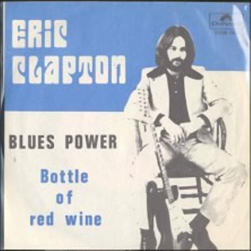 "Eric Clapton Blues Power 7"" vinyl single (7 inch record) German CLP07BL103975"