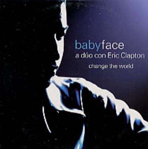 "Eric Clapton Change The World CD single (CD5 / 5"") Spanish CLPC5CH170773"