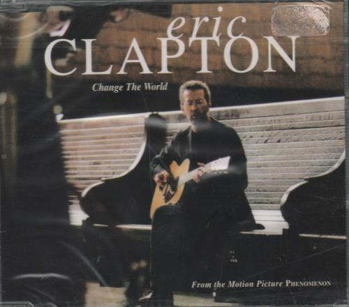 "Eric Clapton Change The World CD single (CD5 / 5"") German CLPC5CH655992"