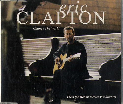 "Eric Clapton Change The World CD single (CD5 / 5"") German CLPC5CH78667"