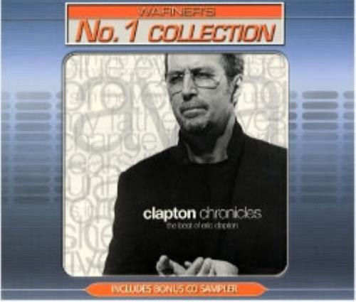 Eric Clapton Clapton Chronicles - Warners No.1 Collection 2 CD album set (Double CD) Singapore CLP2CCL181148