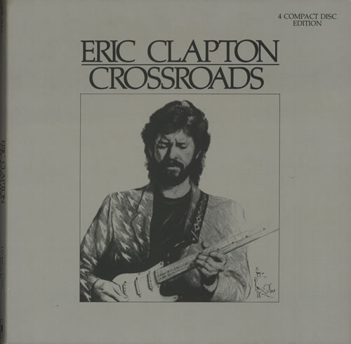 "Eric Clapton Crossroads - 12"" x 12"" Box CD Album Box Set UK CLPDXCR105120"