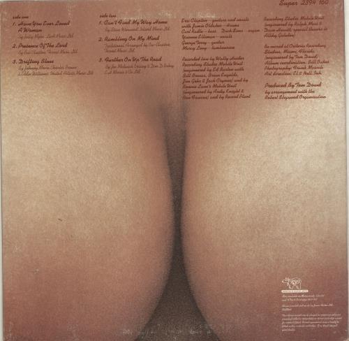 Eric Clapton E.C. Was Here - EX vinyl LP album (LP record) UK CLPLPEC661742