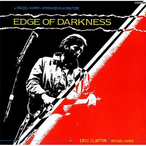 "Eric Clapton Edge Of Darkness EP 12"" vinyl single (12 inch record / Maxi-single) UK CLP12ED01345"