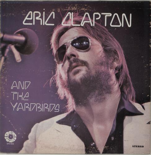Eric Clapton Eric Clapton And The Yardbirds vinyl LP album (LP record) US CLPLPER461735
