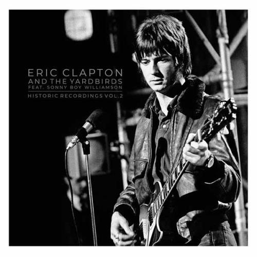 Eric Clapton Historic Recordings Vol. 2 2-LP vinyl record set (Double Album) UK CLP2LHI755931