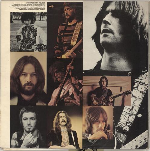 Eric Clapton History Of Eric Clapton - EX 2-LP vinyl record set (Double Album) UK CLP2LHI715085