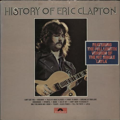 Eric Clapton History Of Eric Clapton - Stickered - EX 2-LP vinyl record set (Double Album) UK CLP2LHI764634