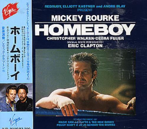 Eric Clapton Homeboy - The Original Soundtrack CD album (CDLP) Japanese CLPCDHO292868