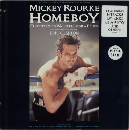 Eric Clapton Homeboy vinyl LP album (LP record) US CLPLPHO623829
