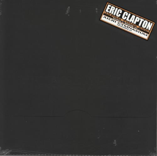 Eric Clapton Japan Tour 2001 - Black Envelope - Sealed tour programme Japanese CLPTRJA723591