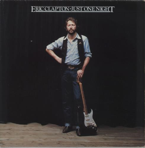 Eric Clapton Just One Night - EX 2-LP vinyl record set (Double Album) UK CLP2LJU676180