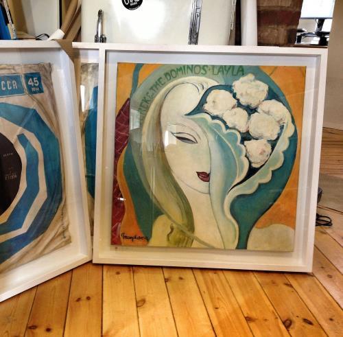 Eric Clapton Layla - SuperSizeArt Numbered Print artwork UK CLPARLA731123