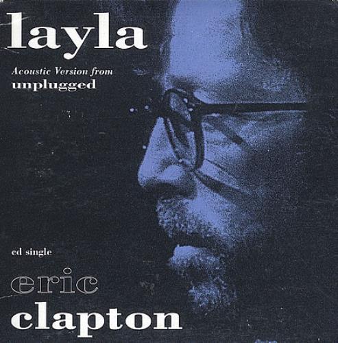 "Eric Clapton Layla CD single (CD5 / 5"") US CLPC5LA94450"