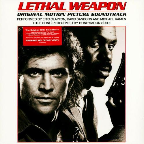 Eric Clapton Lethal Weapon - Clear Vinyl - Sealed vinyl LP album (LP record) UK CLPLPLE769405