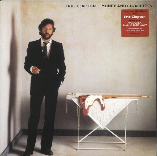 Eric Clapton Money And Cigarettes - 140gram Vinyl - Sealed vinyl LP album (LP record) UK CLPLPMO699045