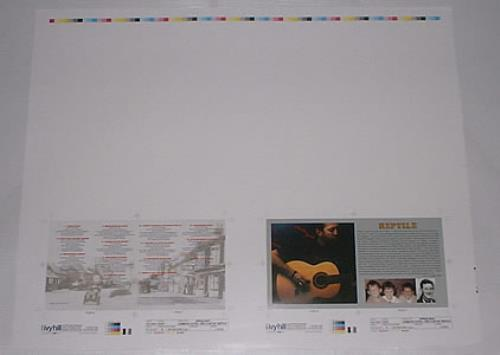 Eric Clapton Reptile artwork US CLPARRE200778