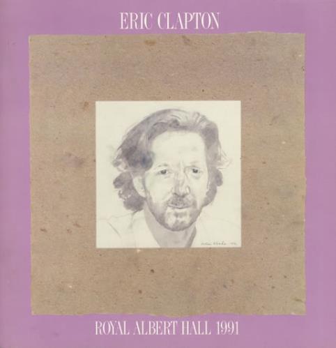 Eric Clapton Royal Albert Hall 1991 + ticket stubs tour programme UK CLPTRRO366968